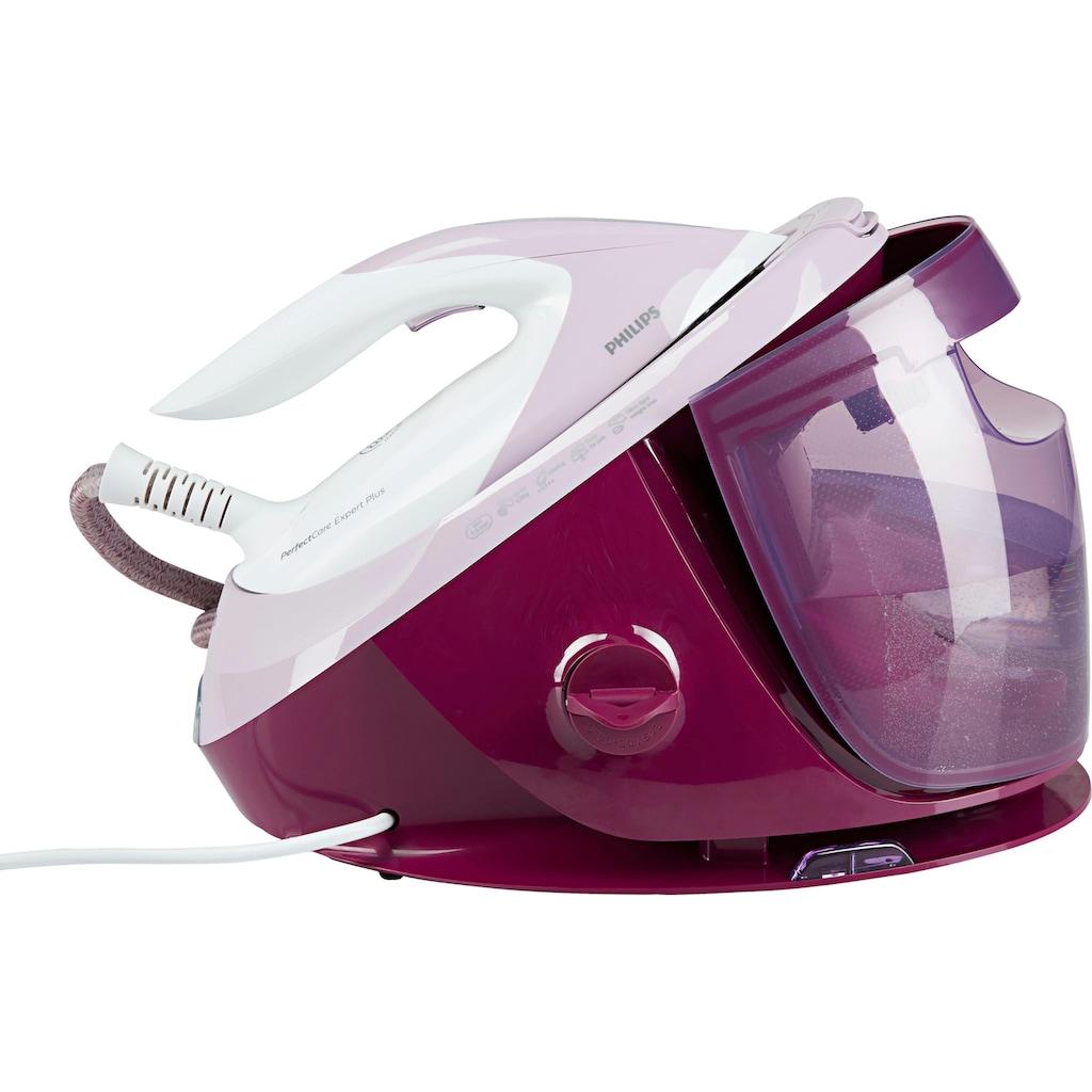Philips Dampfbügelstation »GC8950/30 PerfectCare Expert Plus«, SteamGlide Advanced-Bügelsohle, pink, inkl elektrischem Fusselrasierer GC026/30 im Wert von UVP 14,99