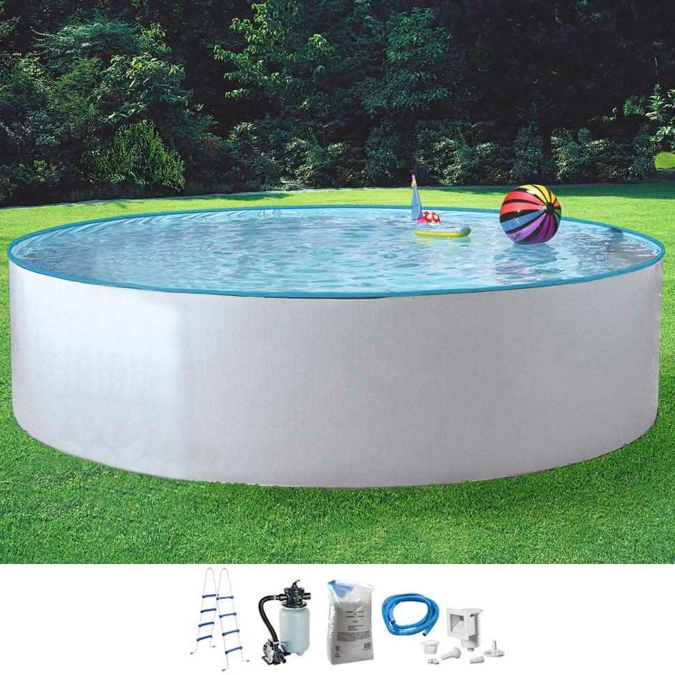 MYPOOL Set: Rundpool »Standard«, 5-tlg. in verschiedenen Größen   Garten > Swimmingpools   MYPOOL