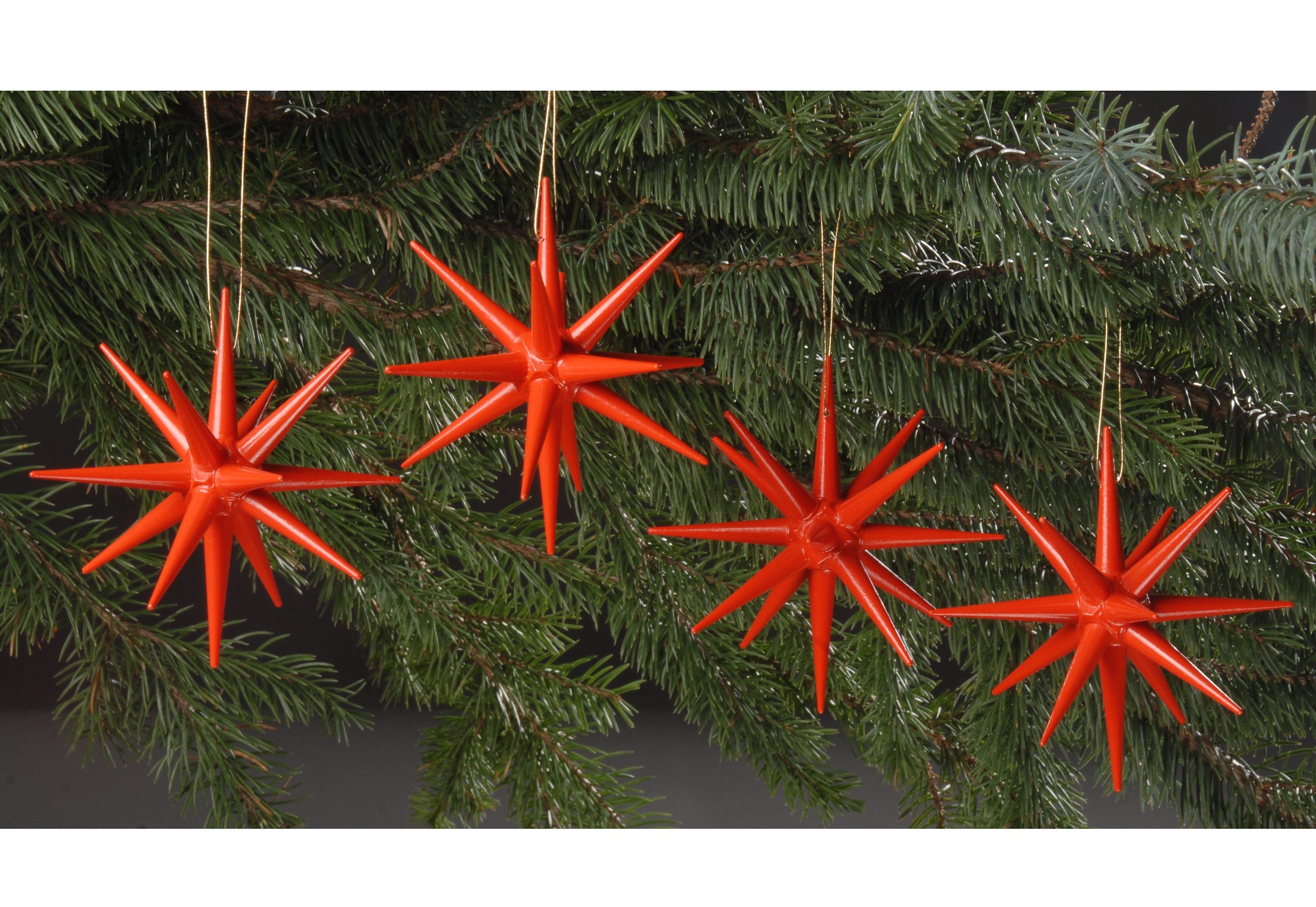 Weihnachten Rot Buchenholz Christbaumschmuck Online Kaufen Mobel