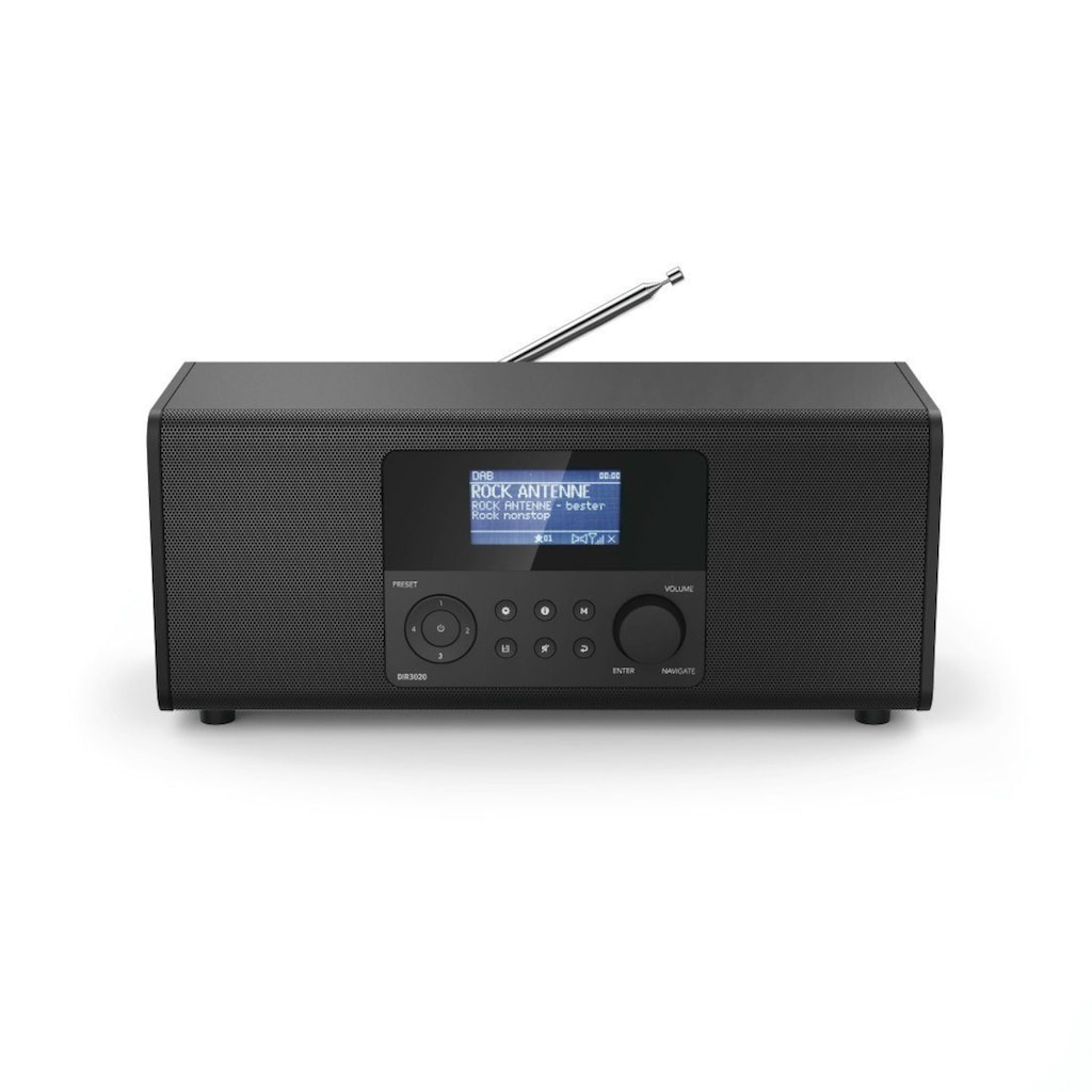 Hama DAB/DAB+ Internet Radio, Digitalradio, FM/Musik-Streaming