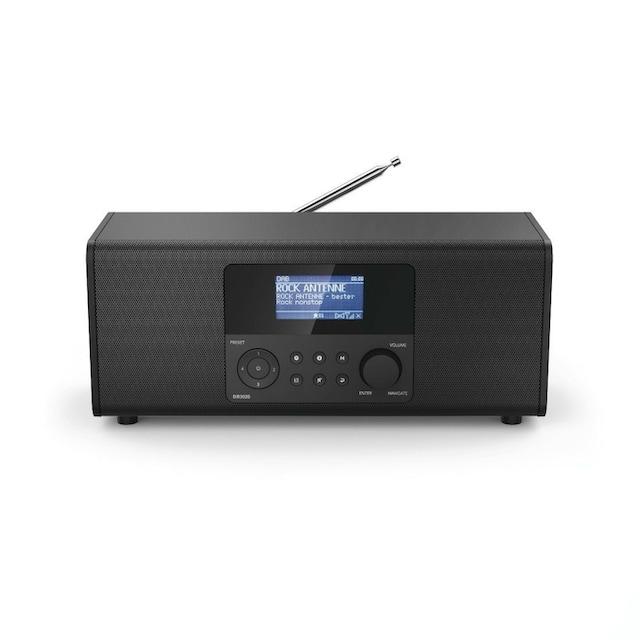 Hama DAB/DAB+ Internet Radio, Digitalradio, FM/Musik-Streaming »DR160BTS«