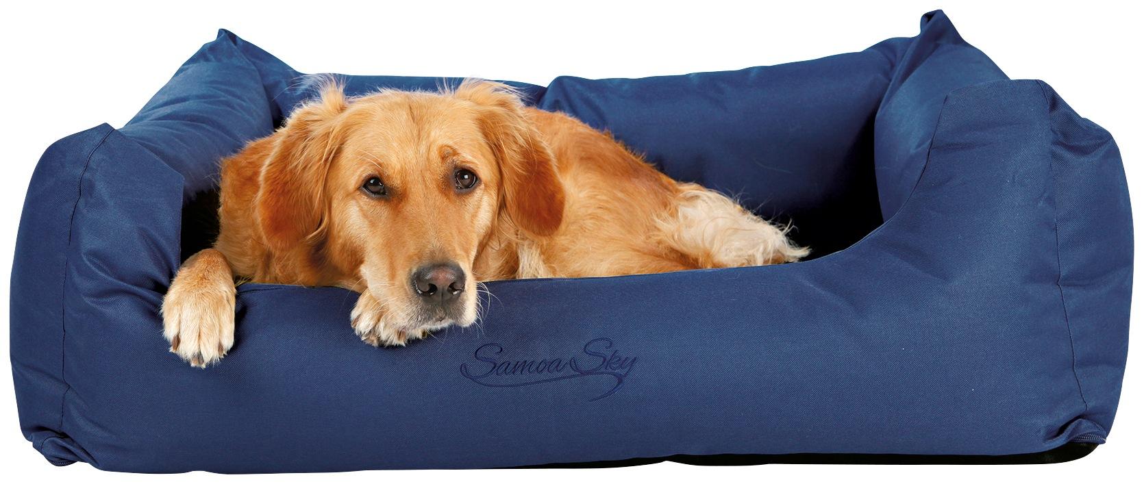 TRIXIE Hundebett »Samoa Sky«, BxL: 100x80 cm, blau | Garten > Tiermöbel > Hundekörbe-Hundebetten | Blau | Polyester | TRIXIE