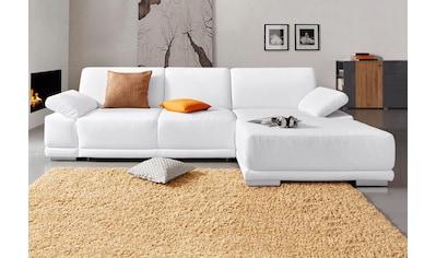 sit&more Ecksofa, mit XL-Recamiere, wahlweise mit Bettfunktion kaufen