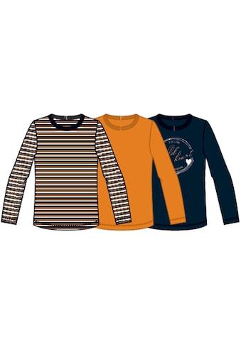 Name It Langarmshirt (Packung, 3 tlg.) kaufen
