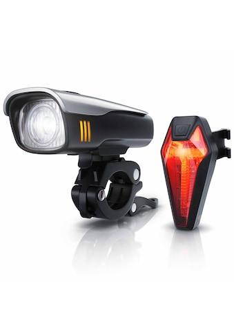 Aplic LED Fahrradlampen-Set mit Front & Rücklicht »Fahrradbeleuchtung mit Akku / StvZO... kaufen