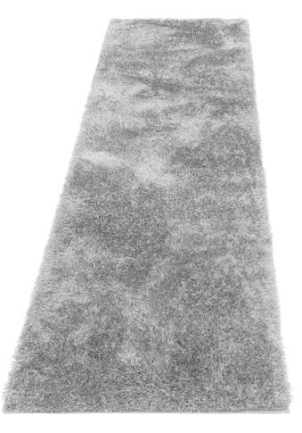 Hochflor - Läufer, »Malin«, Home affaire, rechteckig, Höhe 43 mm, maschinell gewebt kaufen