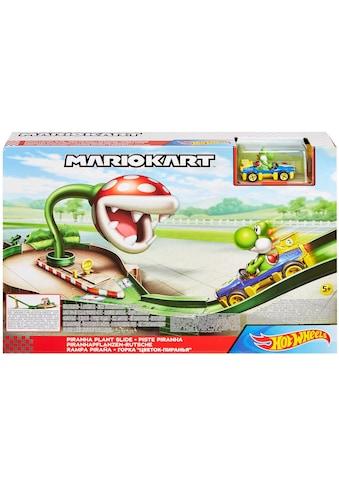 Hot Wheels Spiel-Gebäude »Mario Kart Piranha-Pflanzen-Trackset«, inkl. 1 Spielzeugauto kaufen