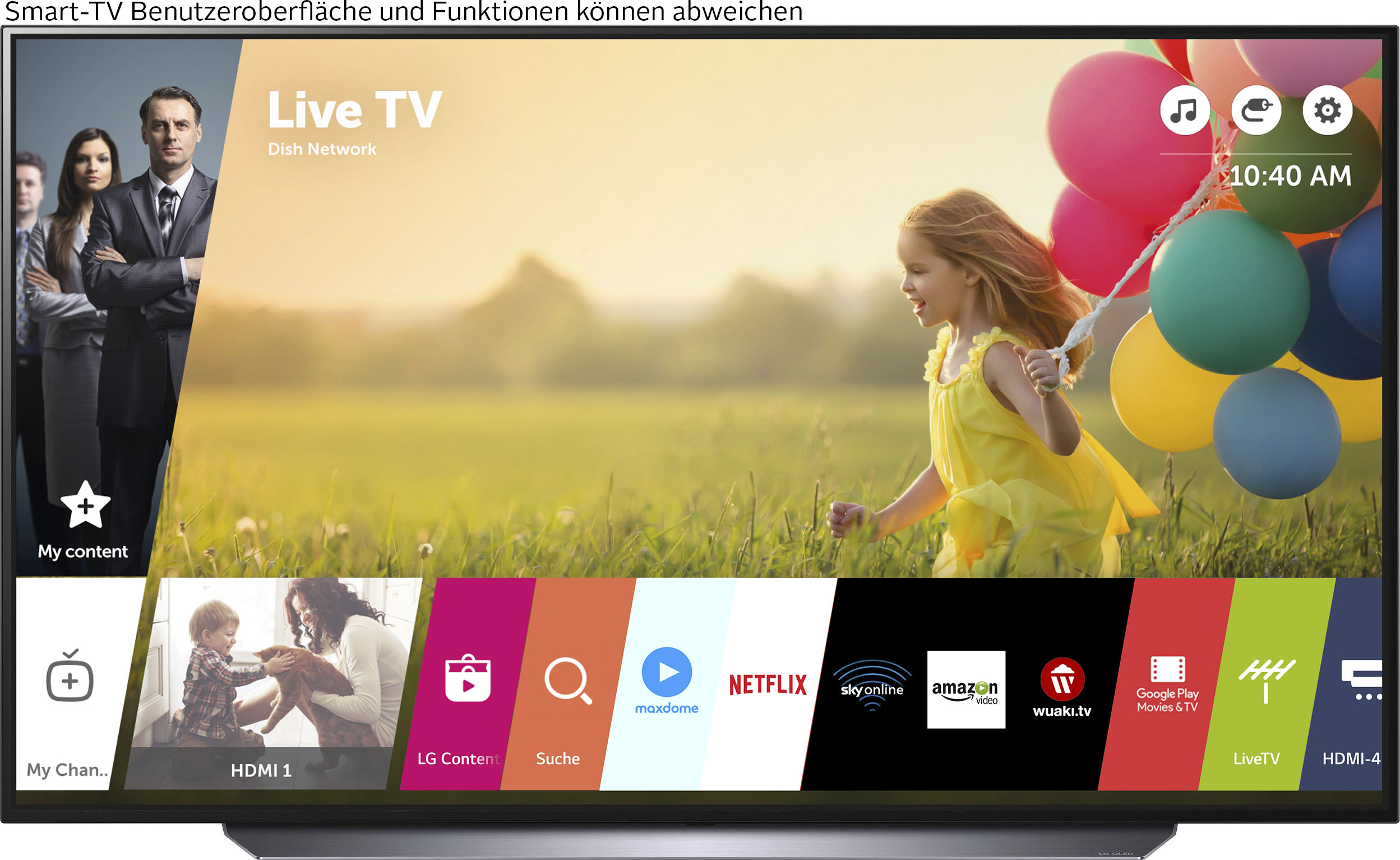 LG OLED-Fernseher OLED65C17LB , 164 cm 65 , 4K Ultra HD, Smart-TV