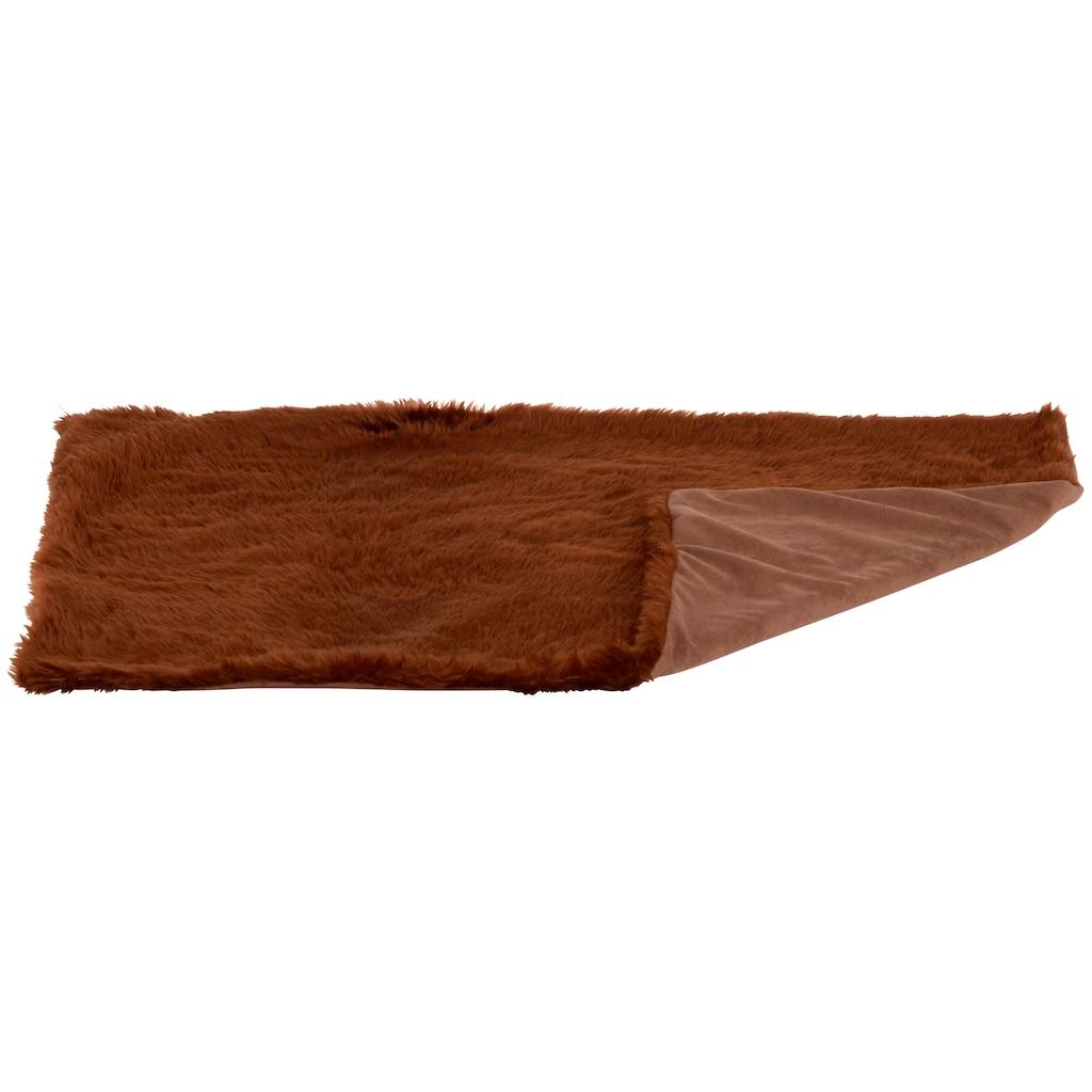 SILVIO design Tierdecke »Ruby Gr. 1«, BxL: 84x54 cm, braun