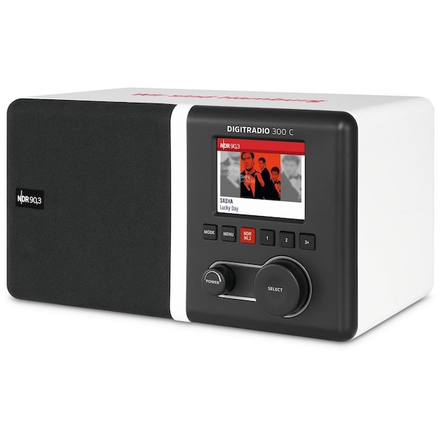 TechniSat DAB+ / UKW Radio smartes Digitalradio »DIGITRADIO 300 C Wir sind Hamburg Edition«