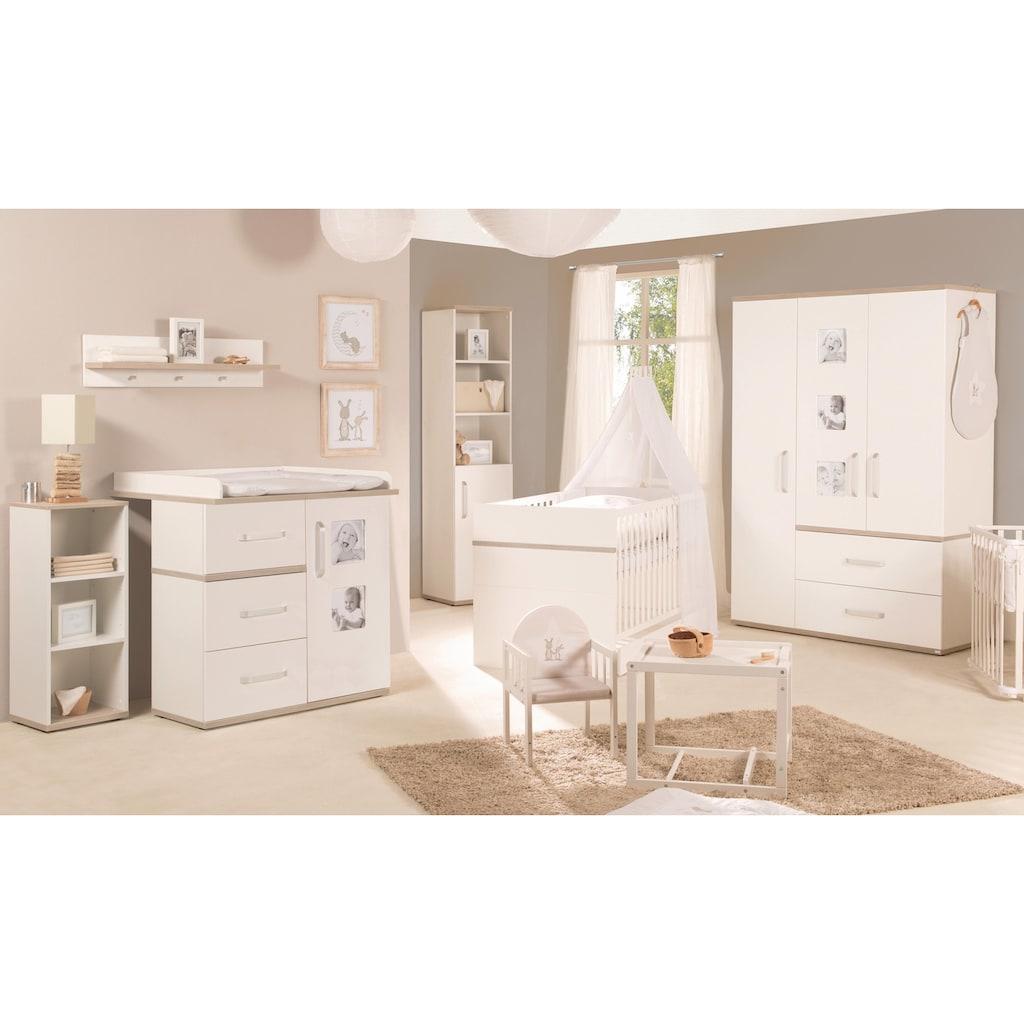 roba® Babyzimmer-Komplettset »Moritz«, (Set, 3 St.), schmal; mit Kinderbett, Schrank und Wickelkommode; Made in Europe