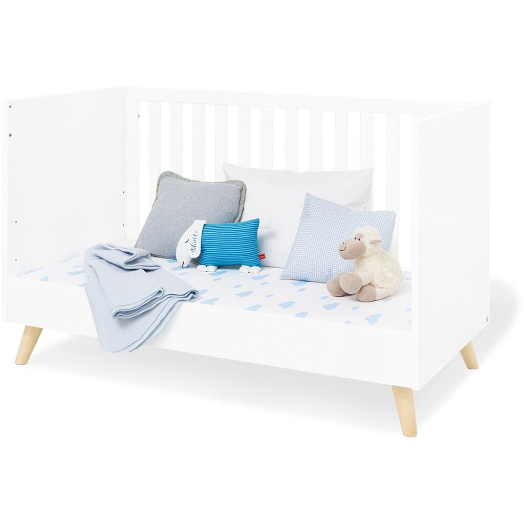 Pinolino® Babyzimmer-Komplettset »Move«, (Set, 3 St.), extrabreit groß; mit Kinderbett, Schrank und Wickelkommode; Made in Europe