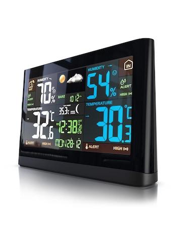 BEARWARE Funk Wetterstation mit Außensensor »Luftdruck  -  Temperaturtrend  -  Wetterprognose« kaufen