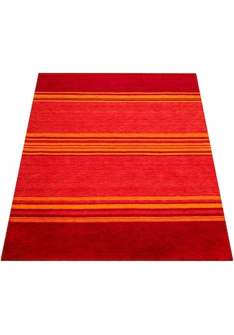 Paco Home Teppich »Gabbeh 307«, rechteckig, 14 mm Höhe, handgefertigter Kurzflor,... kaufen