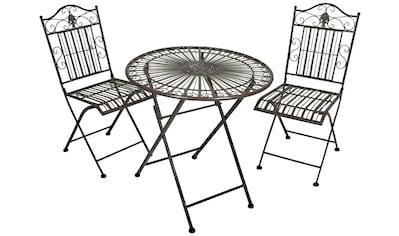 Garden Pleasure Gartenmöbelset »MANGAN«, (Set, 3 tlg.) kaufen