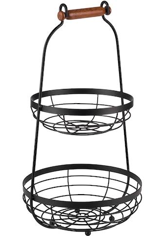APS Etagere, mit Holgriff, Ø 26 cm, 2-stufig, vielseitig einsetzbar kaufen