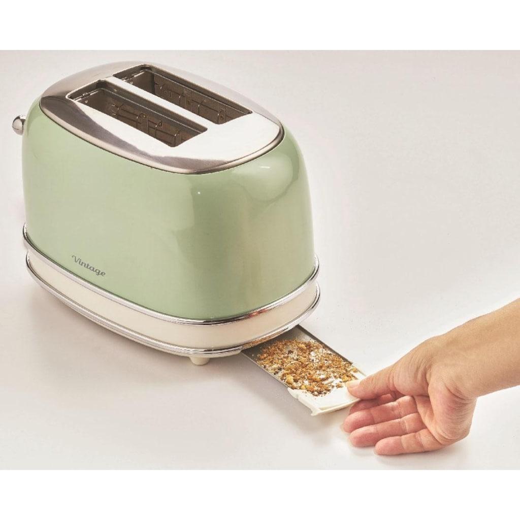 Ariete Toaster »Vintage«, für 2 Scheiben, 810 Watt