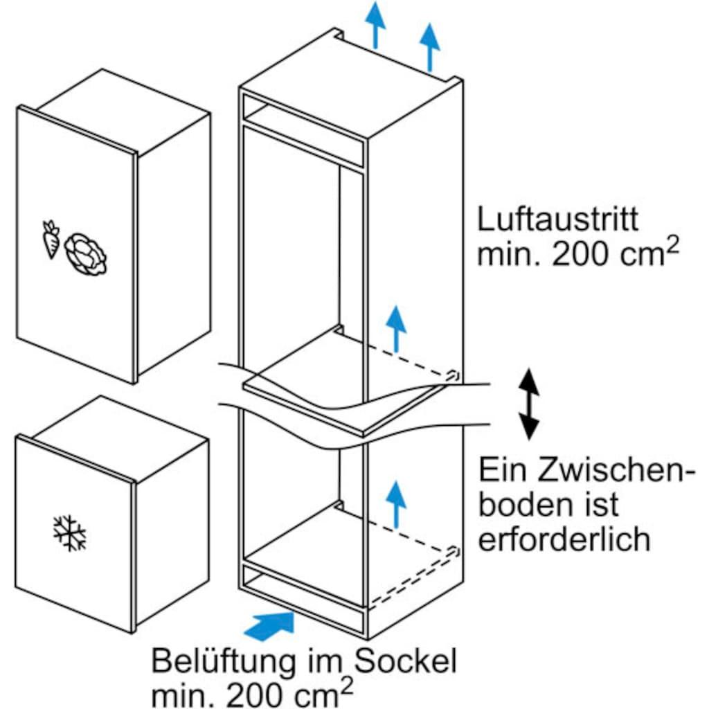 BOSCH Einbaugefrierschrank »GIV21AFE0«, 6, 87,4 cm hoch, 55,8 cm breit