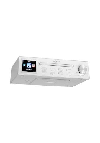 "ONECONCEPT Streamo Chef Küchenradio CD-Player BT 2,4""HCC Display »KC15-RF-047 SI« kaufen"