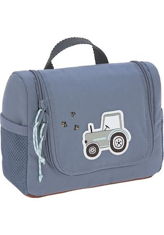 LÄSSIG Kulturbeutel »Adventure, Tractor, Mini Washbag,«, zum Aufhängen; PETA-approved... kaufen