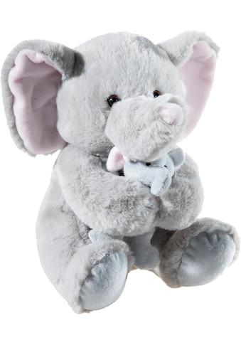 Heunec® Kuscheltier »Elefant mit Baby, 25 cm« kaufen