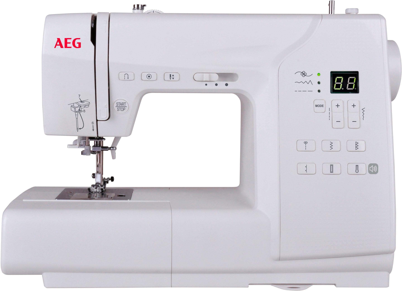 AEG Computer-Nähmaschine AEG63Z, 80 Nähprogramme | Flur & Diele > Haushaltsgeräte > Strick und Nähmaschinen | Weiß | AEG