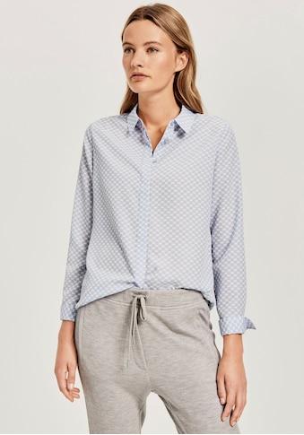 OPUS Klassische Bluse »Fastine circle«, mit Allover Punkte-Muster kaufen