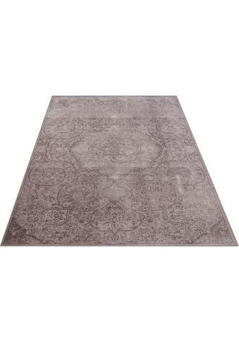DELAVITA Teppich »Zahra«, rechteckig, 6 mm Höhe, Orient-Vintage-Optik, Wohnzimmer kaufen