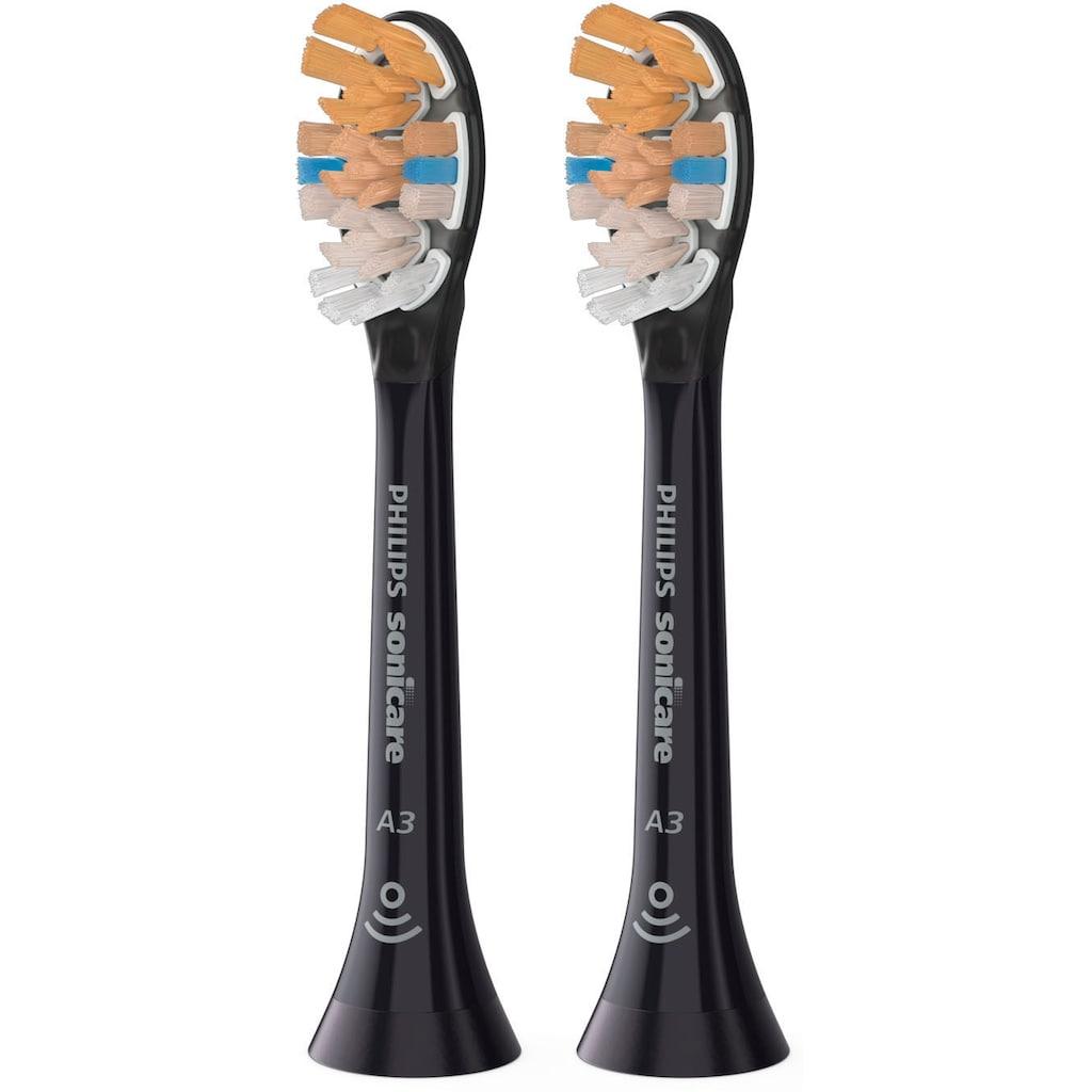 Philips Sonicare Aufsteckbürsten »HX9092 Sonicare A3 Premium All-in-One«, aufsteckbar, BrushSync-fähig, Standardgröße