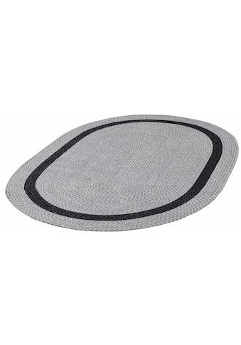 Teppich, »Benito«, THEKO, oval, Höhe 6 mm, handgewebt kaufen