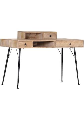 Gutmann Factory Schreibtisch »Joyce«, mit Massivholzplatte Mango kaufen