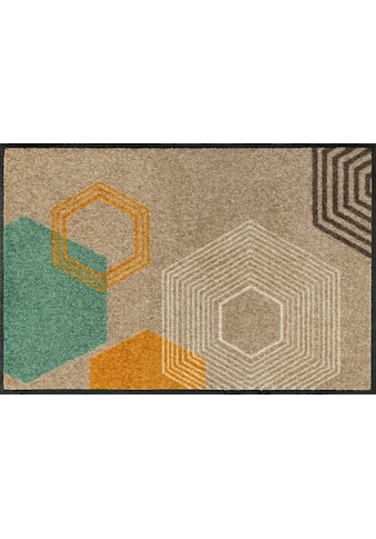 wash+dry by Kleen-Tex Fußmatte »Callisto«, rechteckig, 7 mm Höhe, Schmutzfangmatte,... kaufen