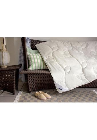 billerbeck Naturfaserbettdecke »Bari Superlight«, leicht, Bezug 100% Baumwolle, (1 St.) kaufen