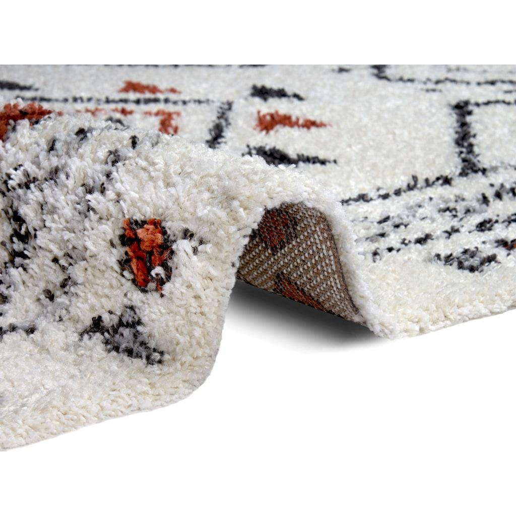 MINT RUGS Hochflor-Teppich »Hurley«, rechteckig, 33 mm Höhe, besonders weich durch Microfaser