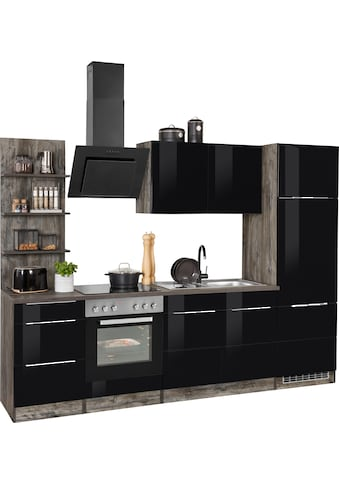 HELD MÖBEL Küchenzeile »Brindisi«, ohne Geräte, Breite 270 cm kaufen