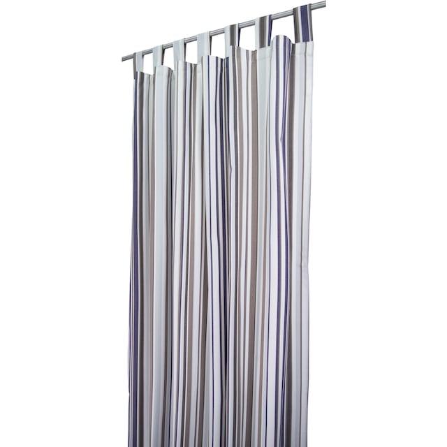 Vorhang, »Fine Lines«, TOM TAILOR, Schlaufen 1 Stück