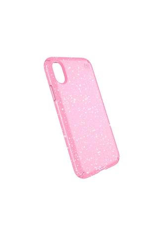 Speck HardCase »PRESIDIO iPhone (X) Clear/Glitter  -  Bella Pink Wit« kaufen