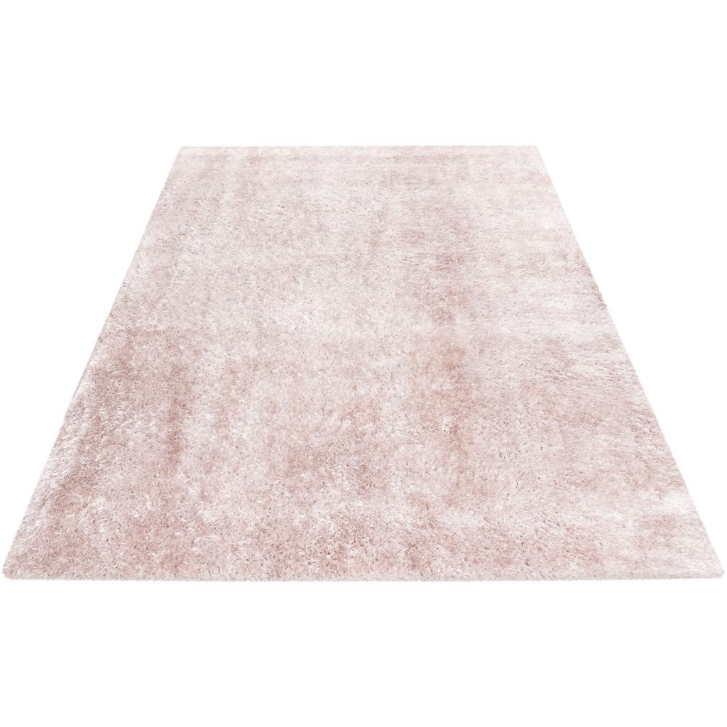 Hochflor-Teppich, »Glossy 795«, Obsession, rechteckig, Höhe 25 mm, handgetuftet