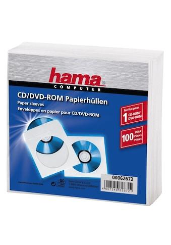 Hama DVD-Hülle, CD Sleeves, 100er-Pack, Weiß kaufen