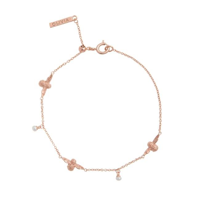 OLIVIA BURTON Armband »Pearl Bee, OBJ16AMB41«