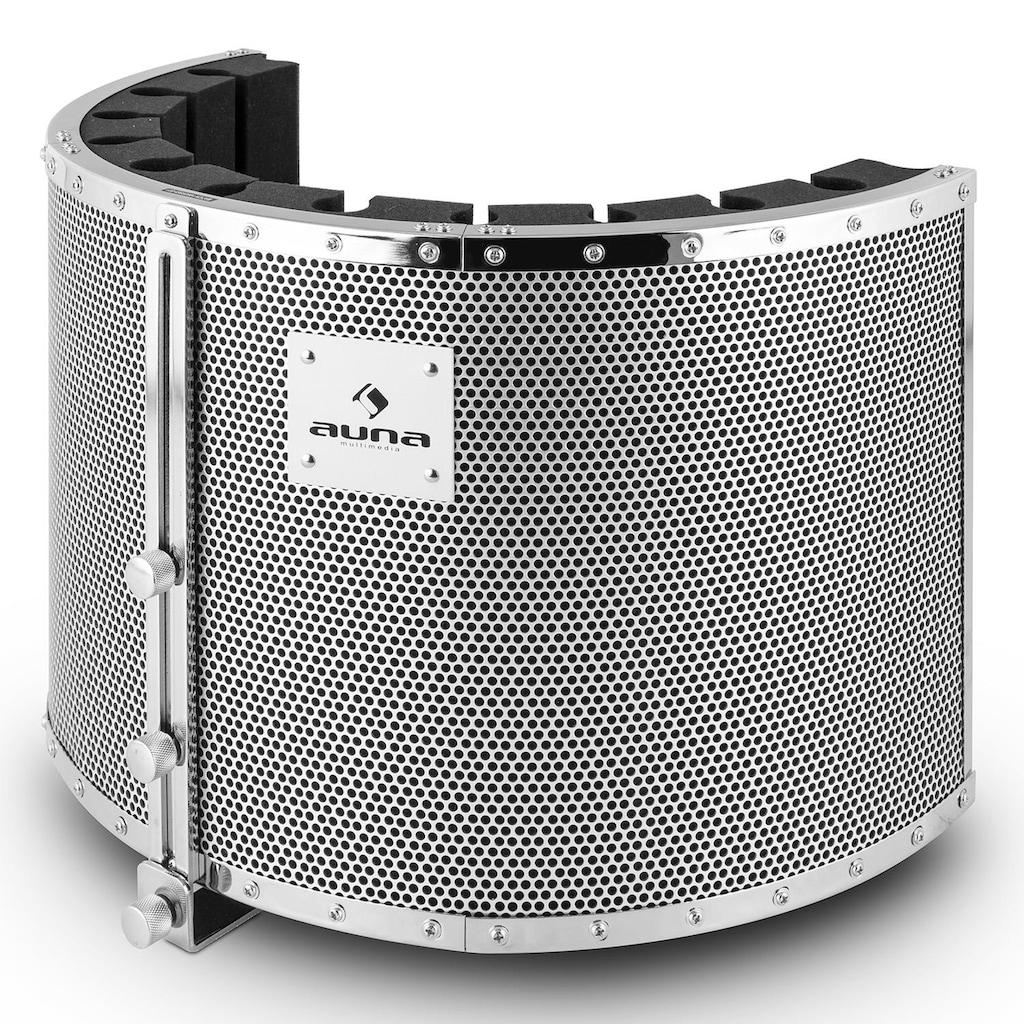 Auna Mikrofon-Schirm Mic Screen Absorber Diffusor inkl. Adapter »MP32 MKII«