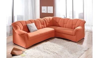 DOMO collection Ecksofa »Papenburg«, in großer Farbvielfalt, wahlweise mit... kaufen