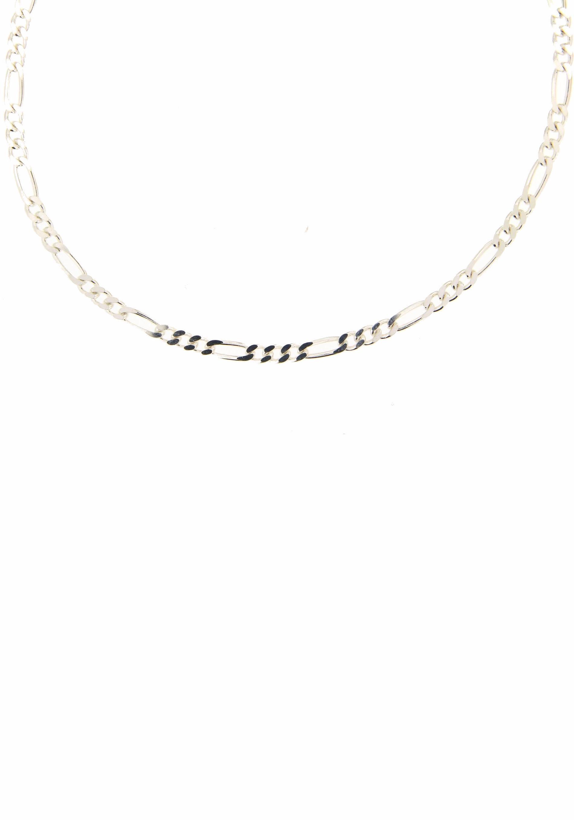 Firetti Silberkette »Figarokettengliederung 3:1, 2,8 mm breit, glanz, 2-fach diamantiert« | Schmuck | Firetti