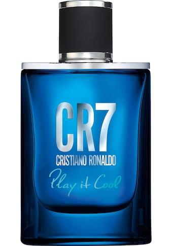 "CRISTIANO RONALDO Eau de Toilette ""Play it cool!"" kaufen"
