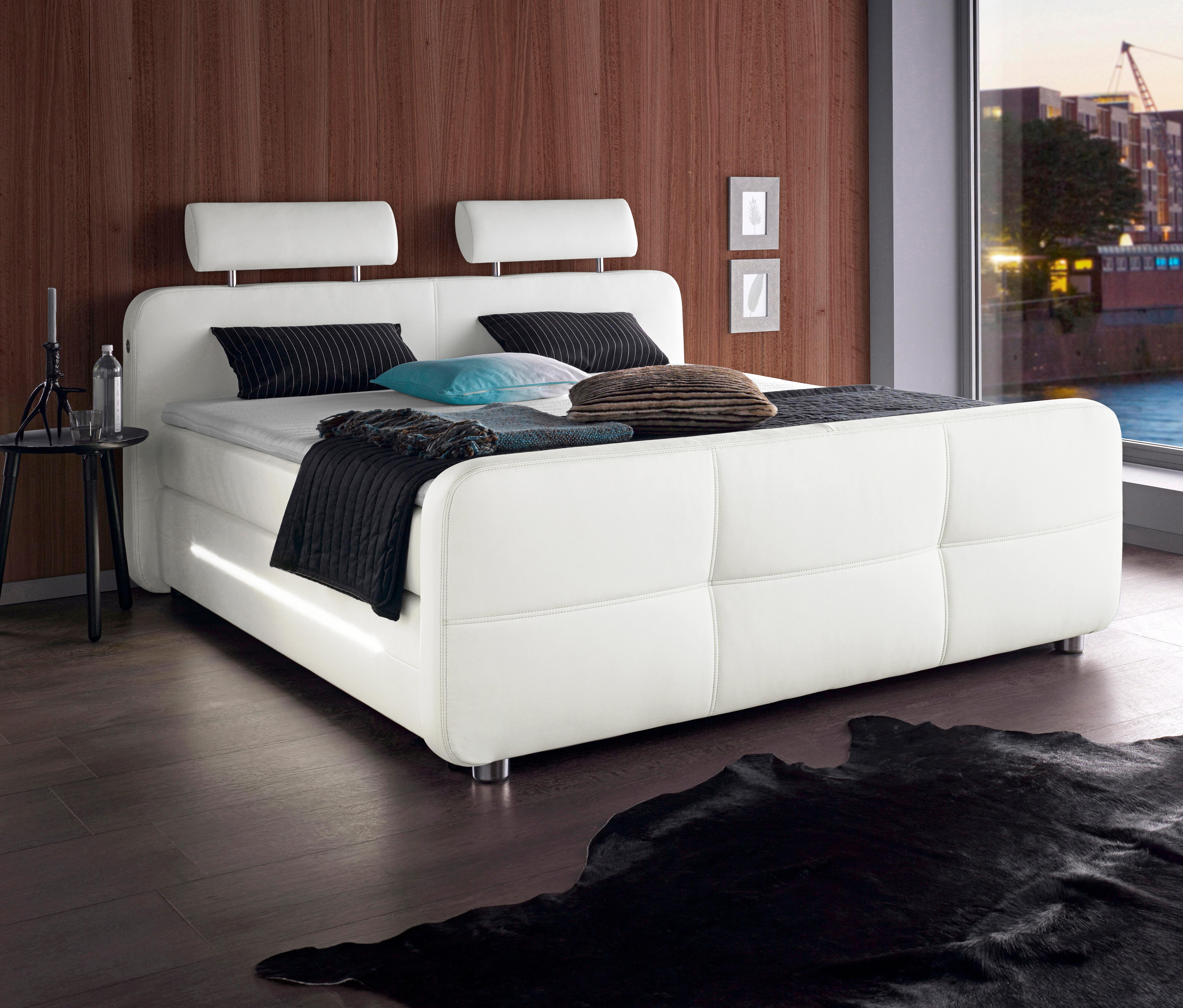 places of style boxspringbett auf rechnung kaufen. Black Bedroom Furniture Sets. Home Design Ideas