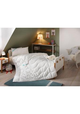 Lüttenhütt Kinderbettdecke + Kopfkissen »TENCEL™«, (Spar-Set), sorgt für gesunden und... kaufen