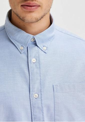 SELECTED HOMME Langarmhemd »RICK-OX FLEX SHIRT« kaufen