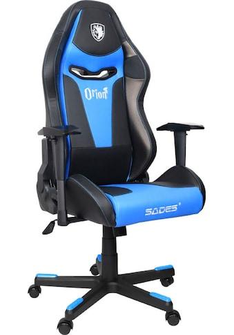 """Sades Gaming-Stuhl »""""Orion"""" schwarz/blau, Kunstleder, höhenverstellbare-Armlehne,... kaufen"""