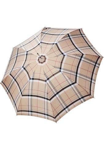 doppler MANUFAKTUR Stockregenschirm »Serge, karo«, handgemachter Manufaktur-Stockschirm kaufen