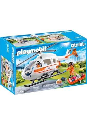 Playmobil® Konstruktions-Spielset »Rettungshelikopter (70048), City Life«, Made in Germany kaufen